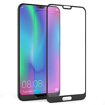 Huawei Honor 10 Glas Screen Protector (Single) - schwarzer Rand