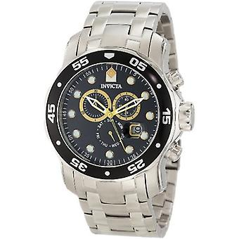 Invicta  Pro Diver 10372  Stainless Steel Chronograph  Watch