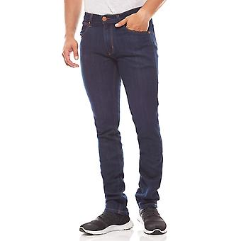 Wrangler Bostin mens stretch jeans blue