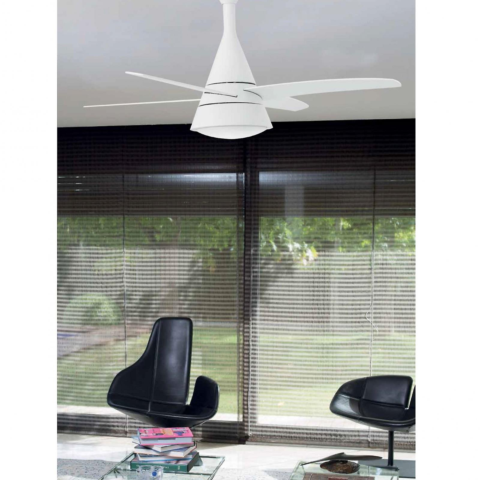 Faro Ceiling Fan Wind white 132 cm / 52