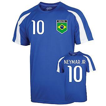 Brazil Sports Training Jersey (neymar Jr 10)
