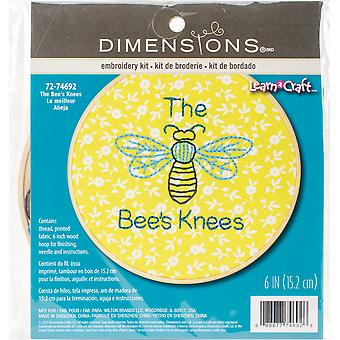 Short N' Sweet The Bees Knees Embroidery Kit-6