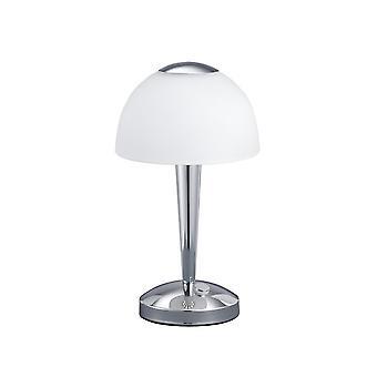 Trio Lighting Ventura Modern Chrome Metal Table Lamp