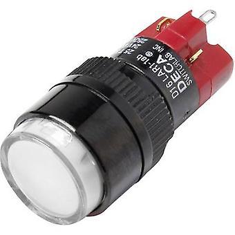 DECA D16LAR1-1abBW Pushbutton switch 250 V AC 5 A 1 x Off/On IP40 latch 1 pc(s)