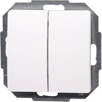 Kopp Insert Series switch Paris White