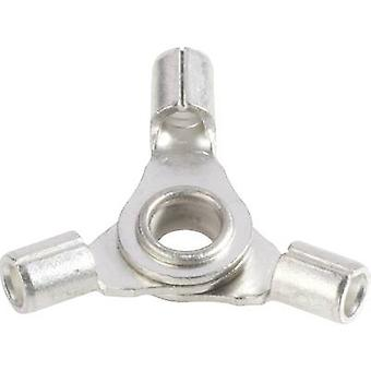 Vogt Verbindungstechnik 3520a3 Crimp contact distributor Cross section (max.)=2.50 mm² Hole Ø=4 mm Not insulated Metal