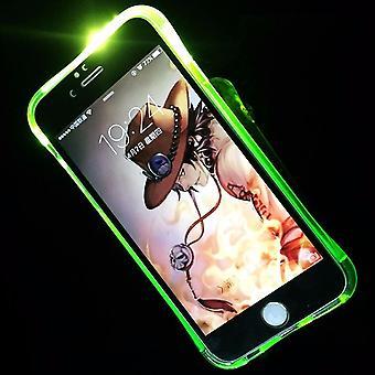 Mobile Shell LED Licht llamada para el móvil Samsung Galaxy A5 2016 verde