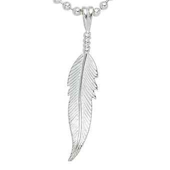 Angel feather pendant spring INDIANA 925 sterling silver
