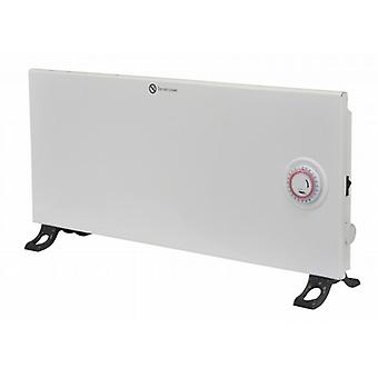 Low Energy Ultra Slim Panel Heater With Timer | 1200w