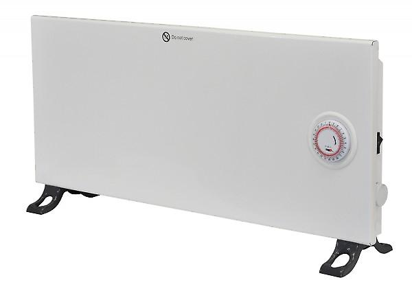 Prem-i-air Convection Panel Heater With Thermostat And Timer; 1.25kw