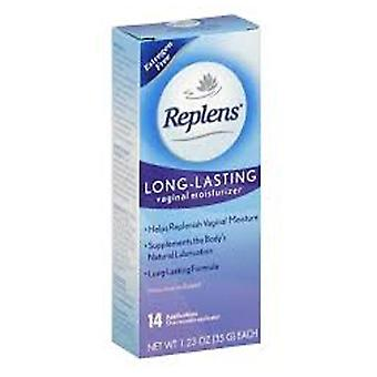 Replens long-lasting vaginal moisturizer application, 14 ea