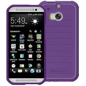 Body Glove ShockSuit Case for HTC One M8 (Plum/Lavender)