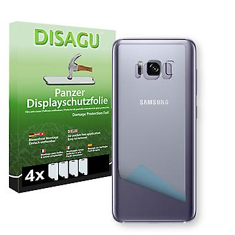 Samsung Galaxy S8 plus rear screen protector - Disagu tank protector protector (deliberately smaller than the display, as this is arched)