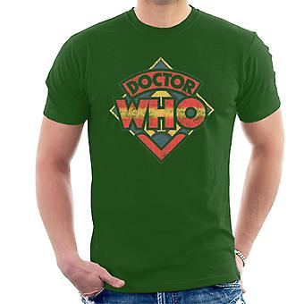 Doctor Who 70s Logo Men's T-Shirt