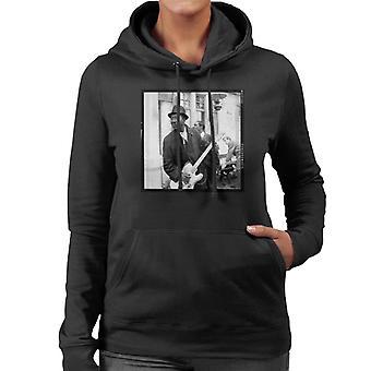 TV Times Muddy Waters Blues And Gospel Train 1964 Women's Hooded Sweatshirt