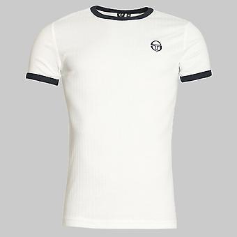 Sergio Tacchini Drop T-Shirt White / Navy
