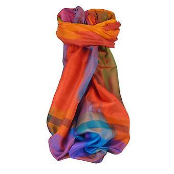 Varanasi Ekal Premium Silk Long Scarf Heritage Range Tamwar 6 by Pashmina & Silk