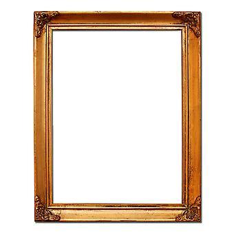 16x21 cm eller 6x8 tum, fotoram i guld