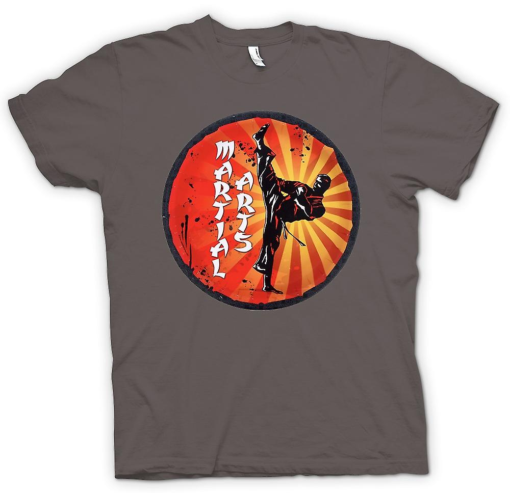 Womens T-shirt - Martial Arts - Pop Art Design