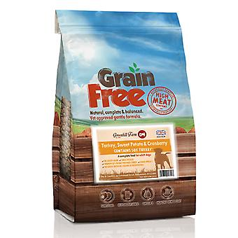 Greenhill Farm Grain Free Turkey, Sweet Potato & Cranberry