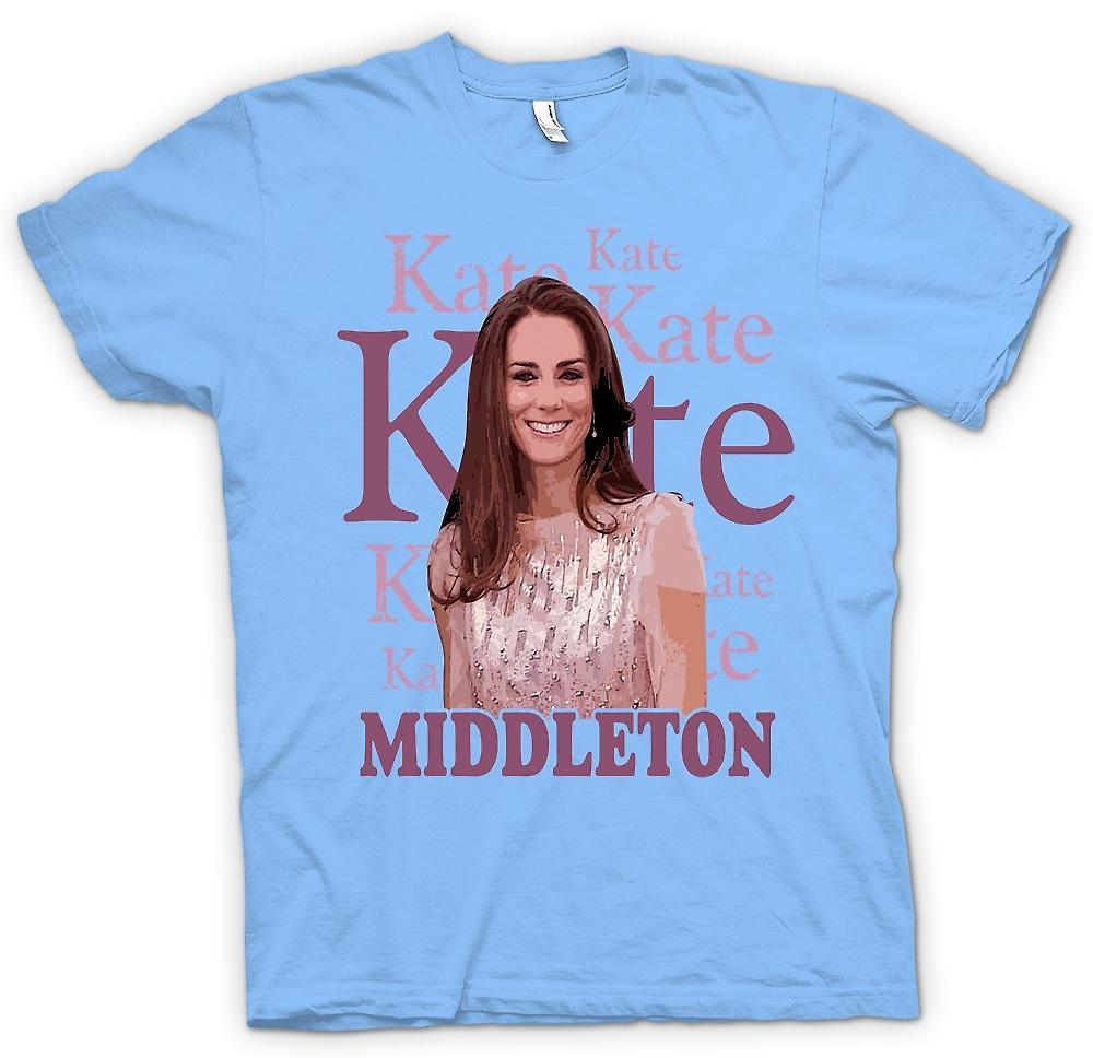 Mens t-shirt - Kate Middleton - futuro Regina