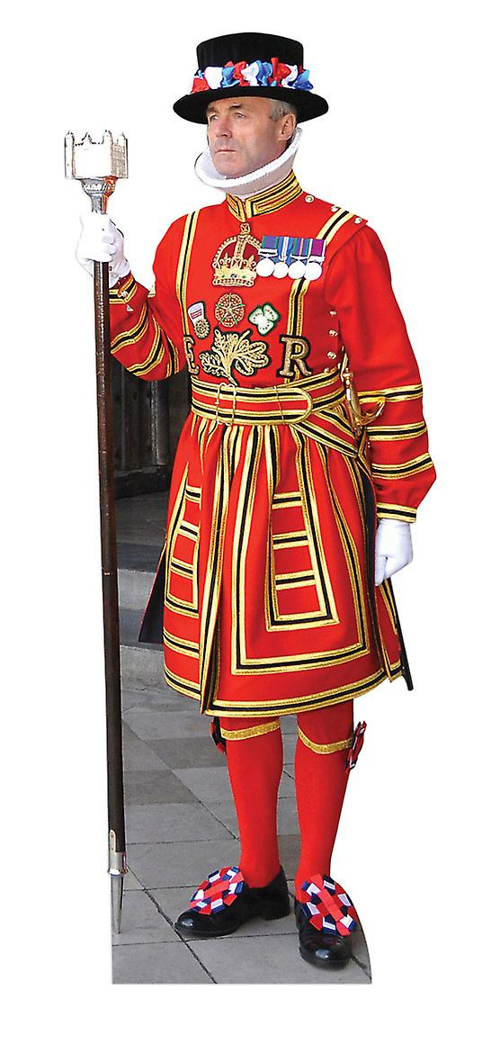 Royal Beefeater Lifesize Cardboard Cutout / Standee / Standup