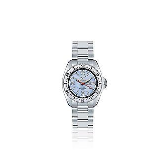 CHRIS BENZ-Diver horloge-een MEDIUM 200M-CBM-H-MB-SI