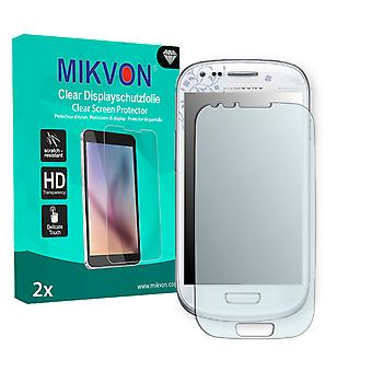 Samsung I8190 Galaxy S3 mini La Fleur Edition Screen Protector - Mikvon Clear (Retail Package with accessories) (reduced foil)