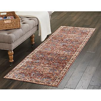 Lagos LAG02 brique Rectangle tapis couvertures traditionnelles