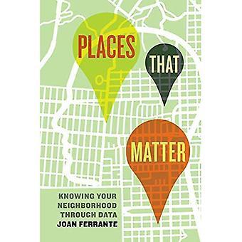 Coloca este asunto: Conocer su barrio a través de datos