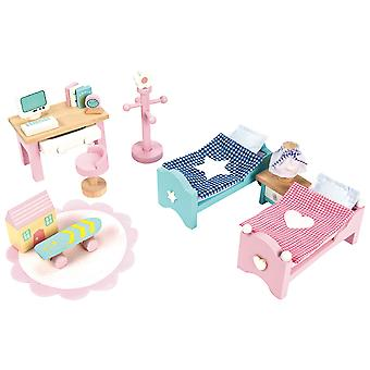 Le Toy Van Doll House Daisylane Children's Bedroom