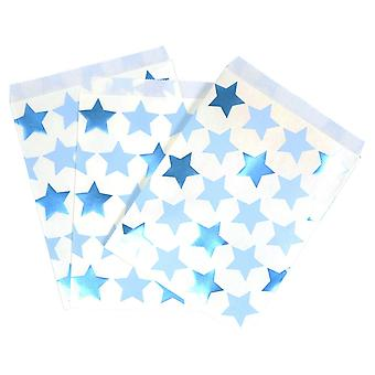 Little Star Blue - Sweetie Bag - 25 Pack - Party Supplies