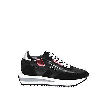Ghoud Black Leather Sneakers