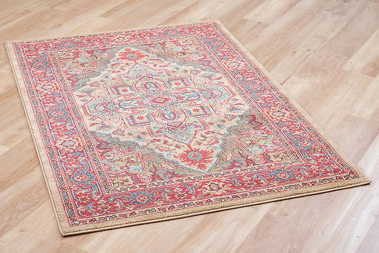 Ziegler 8788-Beige Multicolore Rectangle Tapis Tapis traditionnel