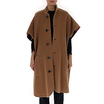 Burberry Brown Wool Coat