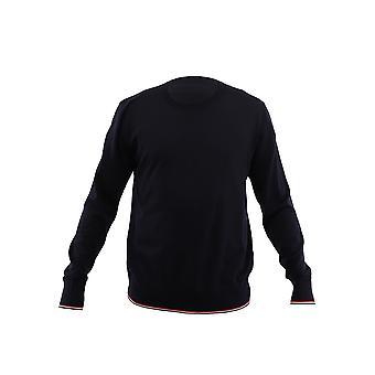 Moncler Blue Wool Sweater
