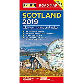 Philipps Scotland Road Map von Philipps Karten - 9781849074469 Buch