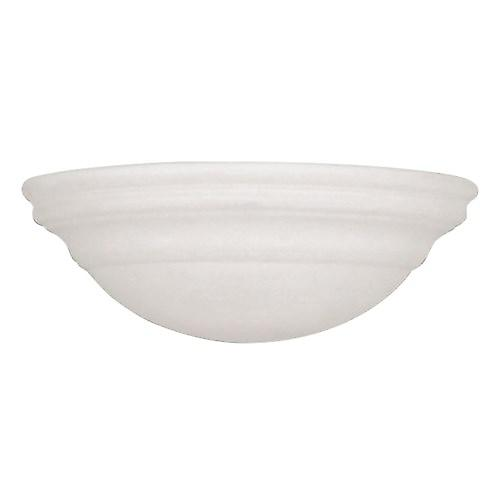 Endon UG-WB-C Unglazed Ceramic Wall Uplighter - Over Paintable