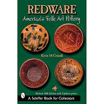Redware: cerâmica da arte popular da América