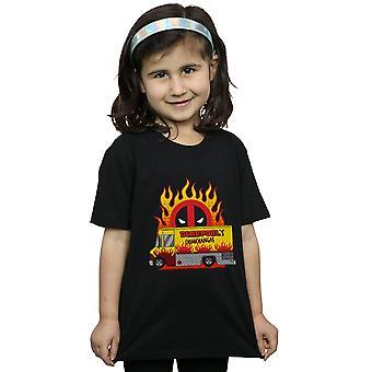 Marvel Girls Deadpool Chimichangas Van T-Shirt