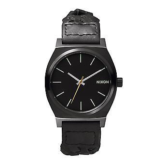 Nixon Time-Teller alle schwarz Woven (A0451928)