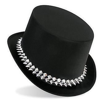 Cylinder pigtråd punkbandet punk Hat