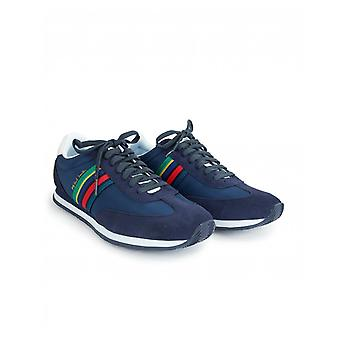 Paul Smith Men's Navy 'sports Stripe' 'prince' Trainers
