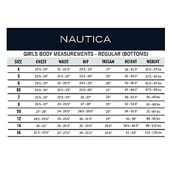 Nautica Girls Plus Size' School Uniform Skinny Fit Stretch, Navy, Size 14.5 Plus