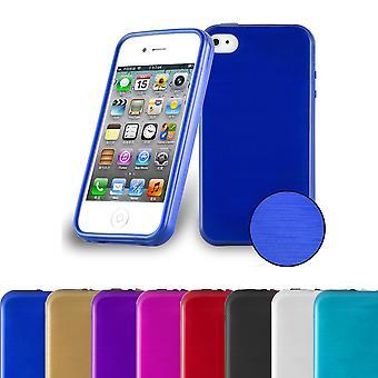 Cadorabo sag for Apple iPhone 4/iPhone 4S sag Cover-telefon sag lavet af fleksibel TPU silikone-silikone sag beskyttende etui Ultra Slim Soft tilbage Cover sag kofanger