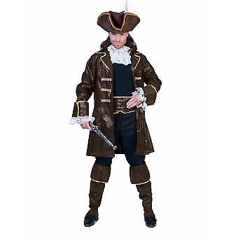 Buccaneers Pirate Pirate Men's Costume Sea Bear Captain Men's Costume