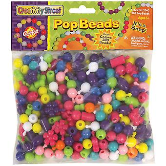 Pop Beads 300 Pkg Assorted Sizes & Shapes Ckc3540