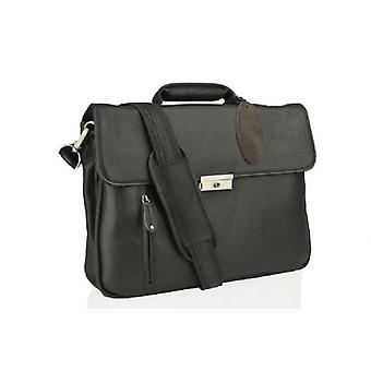 Woodland-Leder-Laptop-Tasche