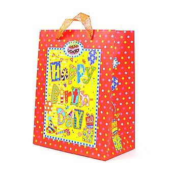 1PK Medium Gift Bags Decorative Luxurious Paper bags for Birthday Party