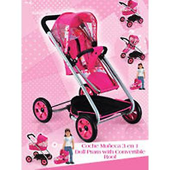 Vercor 3 In 1 Stroller (Kids , Toys , Dolls , Babies And Accessories , Shopping)